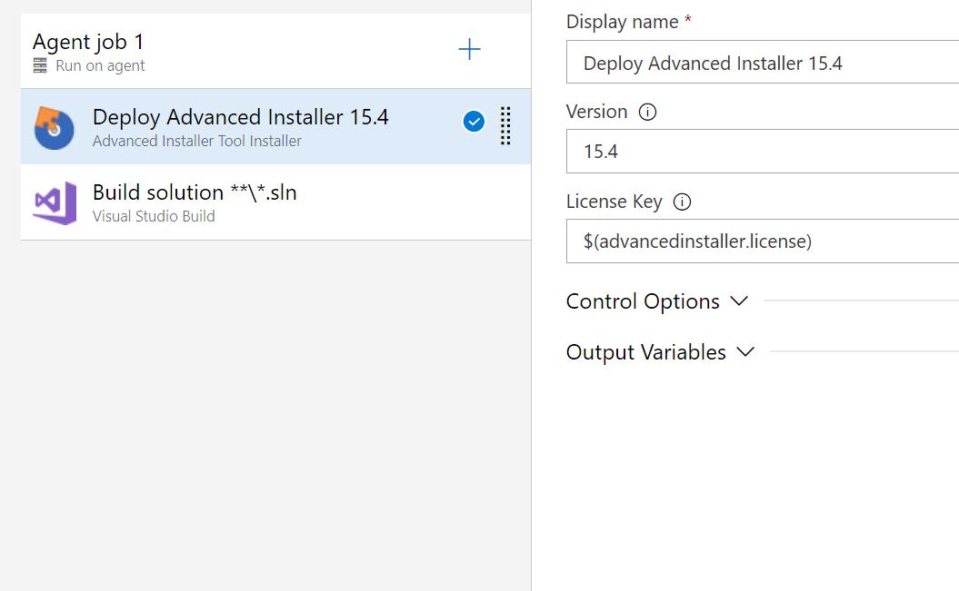 Advanced Installer Tool Installer - Visual Studio Marketplace
